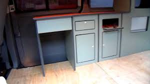 different coloured kitchen cabinets in a t5 camper youtube