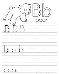 letter practice b worksheets u2013 dorky doodles