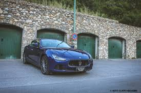 chrome blue maserati maserati ghibli diesel prejudices apart auto class magazine
