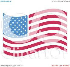 Blue Flag With Stars The American Flag With White Stars Over Blue And Rows Of Red And