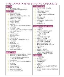 apartment needs first apartment buying checklist baby needs pinterest