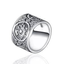 ring men sterling silver 925 ring men vintage men rings 4 creatures
