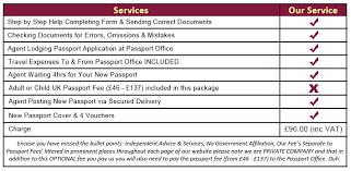 premium service u2013 same day renewal of uk passports