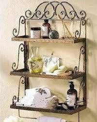 Wrought Iron Bathroom Shelves Wrought Iron On Pinterest Wall Basket Spice Racks And Shelves