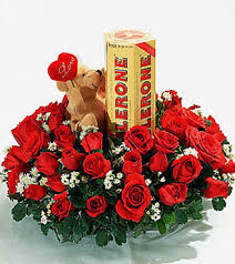 flowers and chocolate send chocolate with flowers to your dear near ones in kolkata