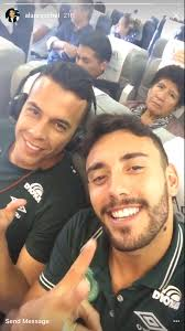 alan ruschel instagrams before brazilian plane crash