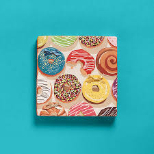 donut wrapping paper wrapped in design paper source