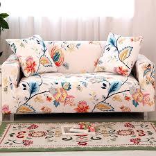 housse de canap et fauteuil extensible housse de canape et fauteuil extensible fleurs impression couvre