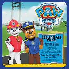 mall stonecrest paw patrol live