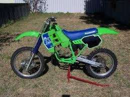 kawasaki kx 125 1988 u2013 idee per l u0027immagine del motociclo