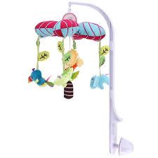baby crib lights toys 360 degrees rotating baby rattles baby musical box hanging bell crib