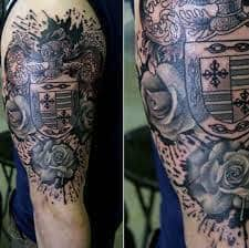 family crest tattoos 43