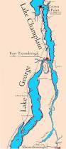 13 Colony Map Attack Lake Champlain I