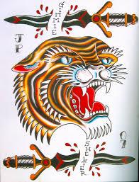 snake tiger tattoo tattoo snake tattoo traditional style