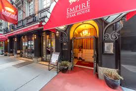 empire steak house 54th st 50th st best steakhouse in nyc