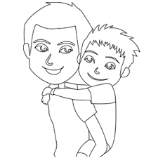 father son coloring pages coloring pages ideas u0026 reviews