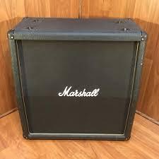 marshall 2x12 vertical slant guitar cabinet carvin 2x12 vertical cab eminence loaded evolution music