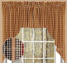Fishtail Swag Curtains Fishtail Swag In Copen Red Custom Window Treatments And Semi