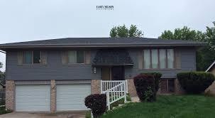 split level homes three split level homes in grey s casey nelson exteriors