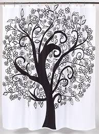 Shower Curtain With Tree Design Black Tree Shower Curtain Best Selection In Town