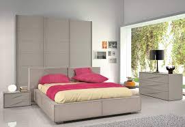Italian Leather Bedroom Sets Modern Italian Bedroom Furniture In Dark Grey Finish W Linen Bed