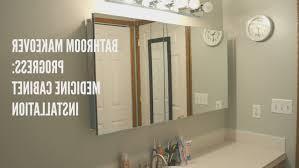 Bathroom Wall Medicine Cabinets Bathroom Top Bathroom Mirrored Medicine Cabinets Images Home