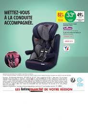 siege auto intermarché prospectus promoconso puériculture bébé accessoires auto