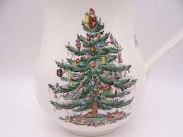 spode tree made in 48 oz pitcher second wind