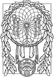 catcher coloring pages ornament a simple