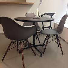 Eames Plastic Armchair Daw Vitra Stuhl Daw Basalt Eames Plastic Armchair Epc Ahorn Dunkel