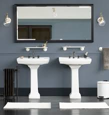 connor faucet blue gray walls color stories and bath shower