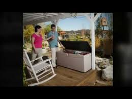 lifetime 60012 extra large deck box lowes youtube