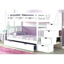 White Bunk Bed With Trundle White Bunk Beds With Trundle Bed Staircase Stairs Slide