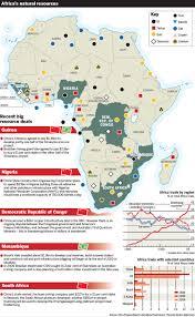 map of africa natural resources deboomfotografie