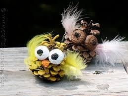 festive pine cone crafts for the season