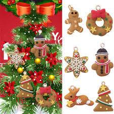 gingerbread plastic ornaments ebay