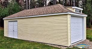 Overhead Door Massachusetts by 1 Car Prefab Garage One Car Garage Horizon Structures