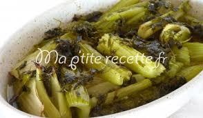 cuisiner le celeri céleri aux fines herbes recette accompagnement céleri branche