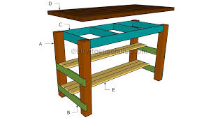 plans for kitchen island diy kitchen island plans howtospecialist how to build by