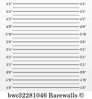 mugshot backdrop 27 mugshot height chart posters and prints barewalls