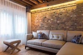 brick wall interior the suitable home design