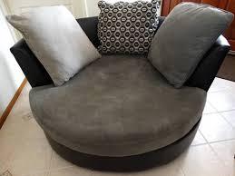 Harveys Armchairs Lounge Chair Pair Of Barrel Lounge Chairs By Vladimir Kagan 2