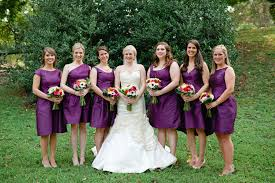 violet bridesmaid dresses purple bridesmaid dresses
