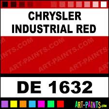 chrysler industrial red engine enamel paints de 1632 chrysler
