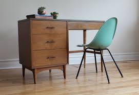 Mid Century Modern Desk Mid Century Modern Desk By Kroehler In 3726 West Montrose Avenue