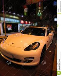 porsche front view porsche 911 at night front view editorial photography image