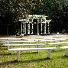 bench rentals ooh events rentals white plantation bench wedding antique
