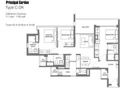 Garden Floor Plan New Condo Launch Principal Garden