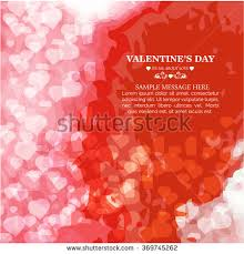 Design For Valentines Card Red Hearts Confetti Valentines Day Wedding Stock Vector 69554668