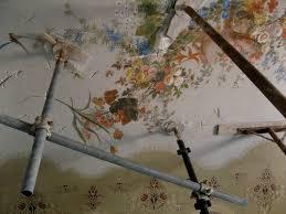 soffitti dipinti restauro soffitti dipinti palazzo battibocca a camerino mc